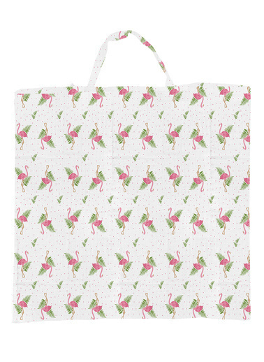 Lunanino Emzirme Örtüsü Flamingo Desen Renkli